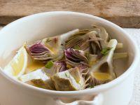 Artichokes in Sherry Sauce recipe