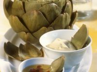 Artichokes with Dressing recipe