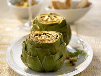 Artichokes with Herb Vinaigrette recipe