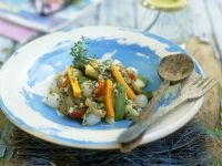 Artichokes with Vegetables and Herbs recipe