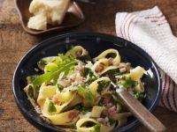 Arugula and Bacon Pasta recipe