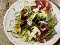 Arugula and Bresaola Salad recipe