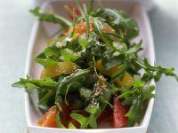 Arugula and Grapefruit Salad recipe