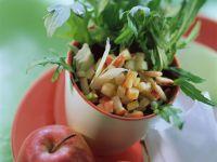 Arugula Apple Salad with Parmesan recipe