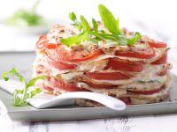 Arugula Pancake Pie recipe