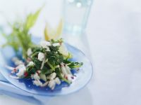 Arugula-radish Salad with Feta Cheese