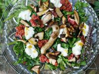 Arugula Salad with Mushrooms recipe