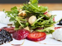 Arugula Salad with Nuts and Fruit recipe