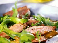 Arugula Salad with Roast Duck Breast recipe