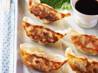 Asian Beef Dumplings recipe
