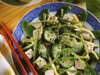Asian Broccoli Plate with Tofu recipe