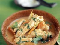 Asian Chicken Curry Bowl recipe