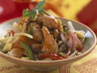 Asian Chicken Wok Saute recipe