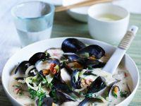 Asian Clam Chowder recipe