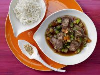 Asian Duck with Vegetables