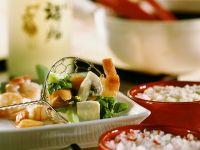 Asian Fish, Tofu and Vegetable Fondue recipe