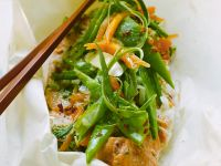 Asian Infused Fish and Vegetables recipe