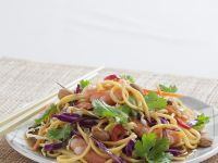Asian Noodle Prawn Salad recipe