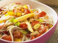 Asian Noodle Salad with Vegetables recipe