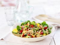 Asian Pasta Salad with Chicken recipe