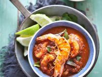 Asian Prawns with Spiced Basmati Rice recipe