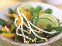 Asian Snow Pea Salad recipe