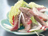 Asian Steak and Chilli Salad recipe