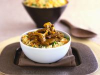Asian-Style Beef and Rice recipe