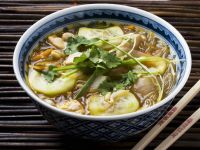 Asian Style Chicken Noodle Soup recipe