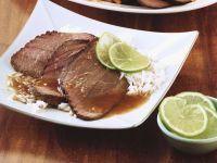 Asian-Style Roast Beef recipe