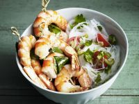Asian-style Shellfish Kebabs recipe