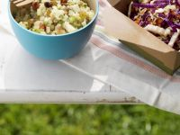 Asian-style Shredded Vegetable and Quinoa Salad recipe