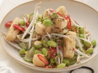 Asian Tofu and Sprout Bowl recipe