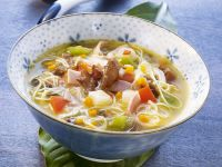 Asian Vegetable Noodle Soup recipe