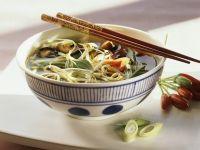 Asian Vegetable Noodle Soup recipe