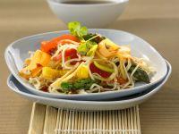 Asian Vegetable Noodles recipe