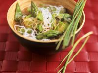 Asian Vegetable Soup with Glass Noodles recipe