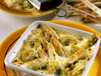 Asparagus and Artichoke Gratin recipe