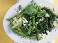 Asparagus and Avocado Salad with Feta Cheese recipe