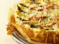 Asparagus and Bacon Flaky Pastry Quiche recipe