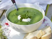 Asparagus and Nettle Soup recipe