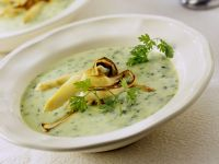 Asparagus and Parsley Soup recipe