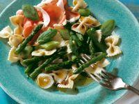 Asparagus and Prosciutto Pasta Salad recipe
