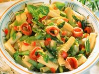 Asparagus and Sesame Pasta Salad recipe