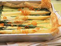 Asparagus Cake recipe