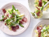 Asparagus Pasta with Bresaola recipe