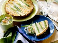 Asparagus Quiche recipe