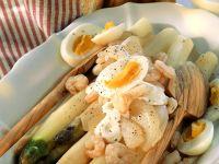Asparagus Salad with Crab recipe
