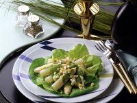 Asparagus Salad with Herb Sauce recipe