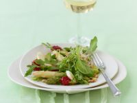 Asparagus Salad with Pinenuts recipe